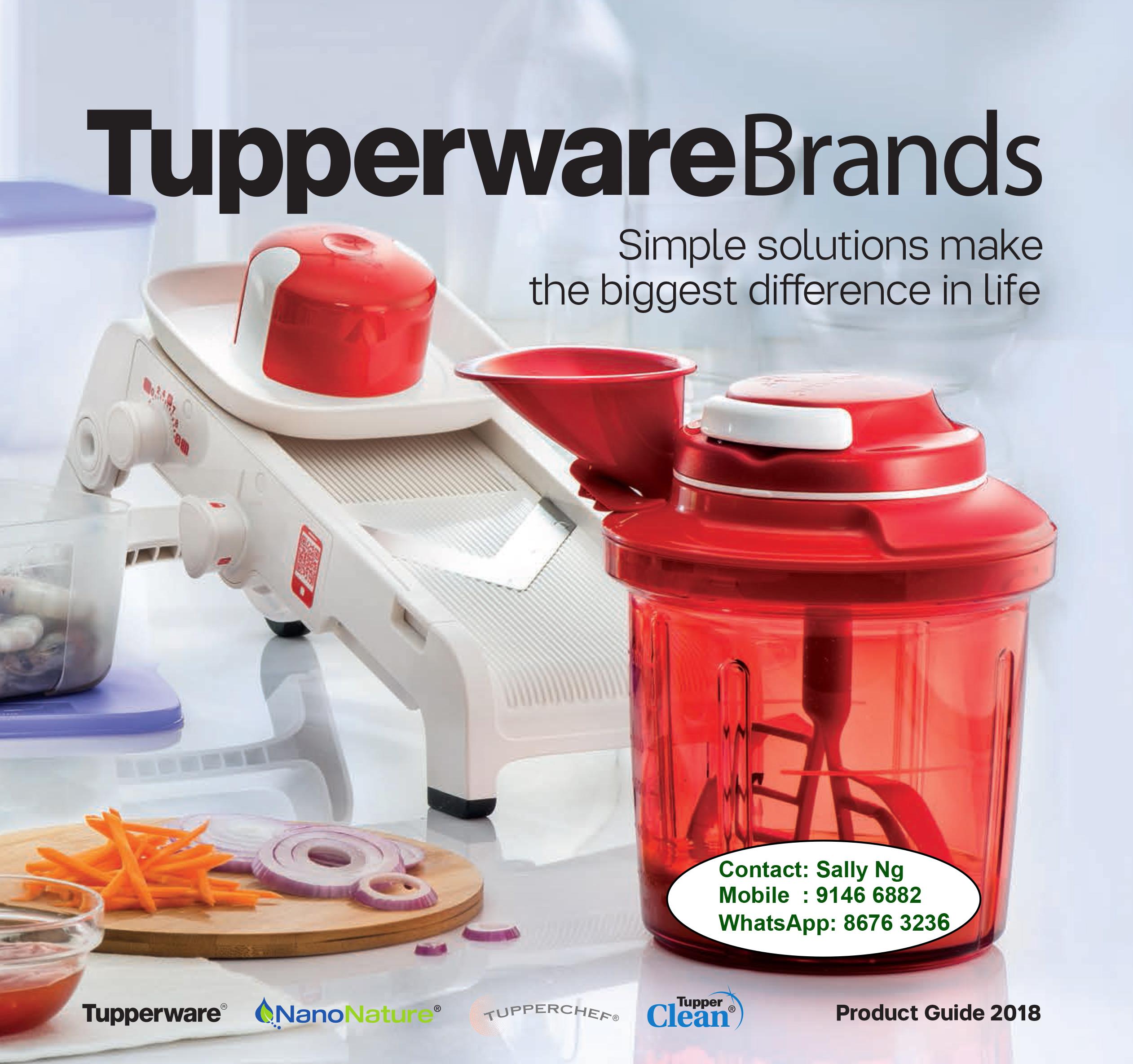 Tupperware Singapore Catalogue 2018   Tupperware Brands
